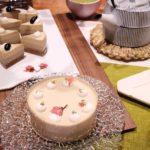 3月のWABISACHIスイーツレッスンが決まりました♪美と健康を叶える『糖質オフほうじ茶ムースケーキ』を一緒に一から作ってみませんか?1ホールお持ち帰り❤︎